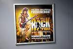 Advertising poster for We Will Rock You, Dominion theatre, London, England 2010
