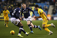 Greg Cunningham of Preston North End in action during Millwall vs Preston North End, Sky Bet EFL Championship Football at The Den on 13th January 2018
