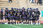 San Diego, CA 05/25/13 - The Carlsbad team during a time out in the action against Westview
