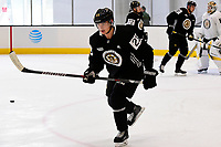 September 15, 2017: Boston Bruins center Jakob Forsbacka Karlsson (23) skates during the Boston Bruins training camp held at Warrior Ice Arena in Brighton, Massachusetts. Eric Canha/CSM