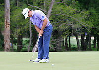 Richard STERNE (RSA) putts on the 8th green during Thursday's Round 1 of the 2014 PGA Championship held at the Valhalla Club, Louisville, Kentucky.: Picture Eoin Clarke, www.golffile.ie: 7th August 2014