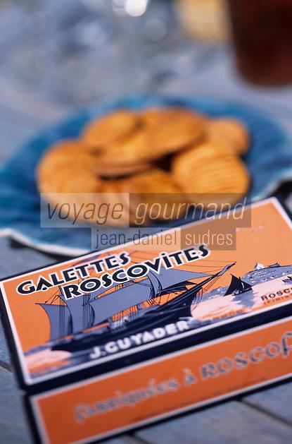"Europe/France/Bretagne/29/Finistère/Roscoff: Galettes roscovites de chez ""Guyader"""