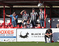 Grimsby Town fans <br /> during the Sky Bet League 2 match between Accrington Stanley and Grimsby Town at the Fraser Eagle Stadium, Accrington, England on 25 March 2017. Photo by Tony  KIPAX / PRiME Media Images.