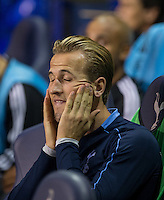 Harry Kane of Tottenham Hotspur is named as a substitute during the UEFA Europa League match between Tottenham Hotspur and Qarabag FK at White Hart Lane, London, England on 17 September 2015. Photo by Andy Rowland.