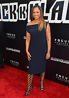 Garcelle Beauvais at the Los Angeles premiere of &quot;BlacKkKlansman&quot; at the Academy's Samuel Goldwyn Theatre, Beverly Hills, USA 08 Aug. 2018<br /> Picture: Paul Smith/Featureflash/SilverHub 0208 004 5359 sales@silverhubmedia.com