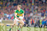 James O'Donoghue, Kerry in action against \t0\ in the first round of the Munster Football Championship at Fitzgerald Stadium on Sunday.