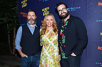 NEW YORK, NY - JUNE 6: Nick Offerman, Toni Collette and Brett Haley at the New York Premiere of Rooftop Films' Hearts Beat Loud at Pioneer Works in Brooklyn, New York City on June 6, 2018. <br /> CAP/MPI99<br /> &copy;MPI99/Capital Pictures