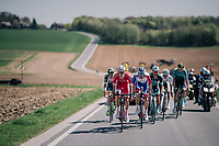 today's breakaway group<br /> <br /> 82nd Fl&egrave;che Wallonne 2018 (1.UWT)<br /> 1 Day Race: Seraing - Huy (198km)