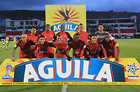 TUNJA – COLOMBIA, 12-05-2018: Patriotas Boyacá y Atlético Huila en partido por los cuartos de final ida de la Liga Águila I 2018 realizado en el estadio La Independencia de Tunja. / Patriotas Boyaca and Atletico Huila in match for the first leg quarterfinals of Aguila League I 2018 played at La Independencia stadium in Tunja. Photos: VizzorImage / Jose M Palencia / Cont