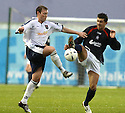 27/11/2004  Copyright Pic : James Stewart.File Name : jspa05_falkirk_v_ross_county.STEVEN MCGARRY AND PEDRO MOUTINHO CHALLENGE.....Payments to :.James Stewart Photo Agency 19 Carronlea Drive, Falkirk. FK2 8DN      Vat Reg No. 607 6932 25.Office     : +44 (0)1324 570906     .Mobile   : +44 (0)7721 416997.Fax         : +44 (0)1324 570906.E-mail  :  jim@jspa.co.uk.If you require further information then contact Jim Stewart on any of the numbers above.........