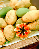 Brazil, Belem, South America, papaya for sale at market