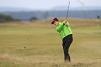 Gary Hurley (IRL) on the 16th fairway during Round 4 of the 2015 Alfred Dunhill Links Championship at the Old Course in St. Andrews in Scotland on 4/10/15.<br /> Picture: Thos Caffrey | Golffile