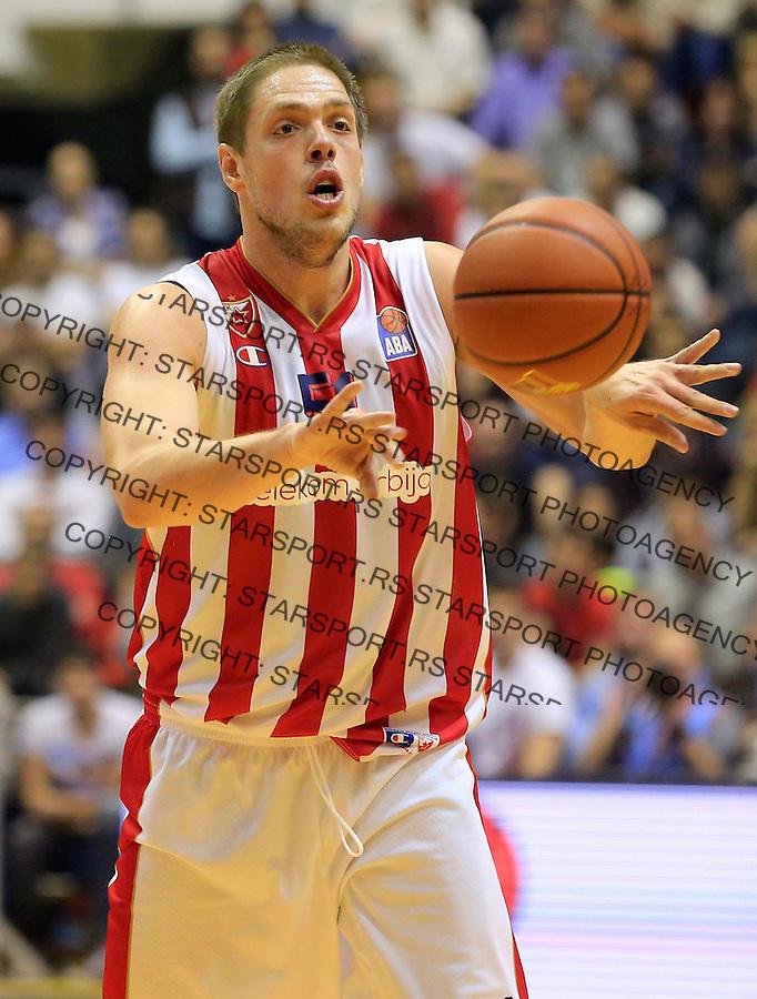 Kosarka ABA League season 2015-2016<br /> Crvena Zvezda v Partizan<br /> Vladimir Stimac<br /> Beograd, 03.11.2015.<br /> foto: Srdjan Stevanovic/Starsportphoto&copy;