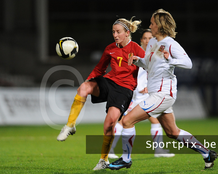Belgium - Czech Republic : Marijke Callebaut.foto DAVID CATRY / Vrouwenteam.be