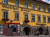 Gasthof zur Sonne in Imst, Tirol, &Ouml;sterreich, Europa<br /> Inn Zur Sonne , Imst, Tyrol, Austria, Europe