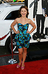 """HOLLYWOOD, CA. - April 14: Olesya Rulin arrives at the premiere of Warner Bros. """"17 Again"""" held at Grauman's Chinese Theatre on April 14, 2009 in Hollywood, California."""