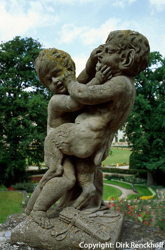 Deutschland, Bayern, Garten der Residenz in Würzburg, Unesco-Weltkulturerbe