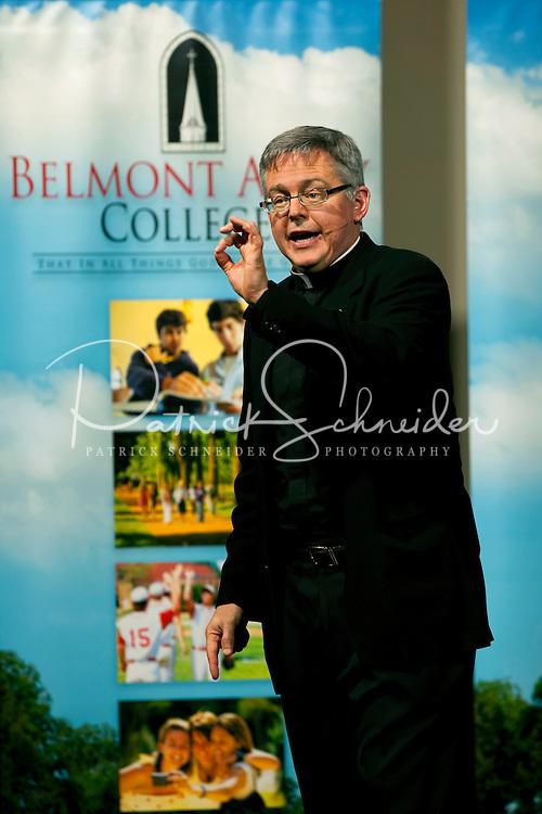 07/11/09 - Envoy Institute - Msgr._Stuart_Swerland at Belmont Abbey College, in Belmont, North Carolina. Photography By: Patrick Schneider Photo.com.
