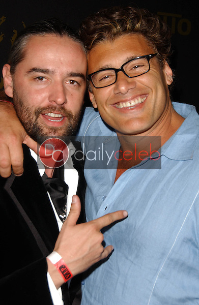 Laurent Planeix and Steven Bauer<br />
