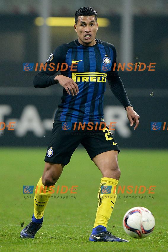 Jeison Murillo Inter<br /> Milano 8-12-2016 Stadio Giuseppe Meazza - Football Calcio Europa League Inter - Sparta Praga. Foto Giuseppe Celeste / Insidefoto
