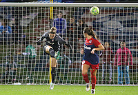 Boyds, MD - Friday Sept. 30, 2016: Kelsey Wys during a National Women's Soccer League (NWSL) semi-finals match between the Washington Spirit and the Chicago Red Stars at Maureen Hendricks Field, Maryland SoccerPlex. The Washington Spirit won 2-1 in overtime.
