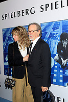 "LOS ANGELES - SEP 26:  Kate Capshaw, Steven Spielberg at the ""Spielberg"" Premiere at the Paramount Studios on September 26, 2017 in Los Angeles, CA"