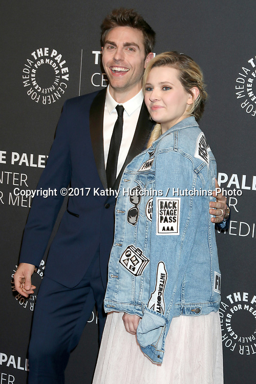 "LOS ANGELES - MAY 18:  Colt Prattes, Abigail Breslin at the 2017 PaleyLive LA - ""Dirty Dancing: The New ABC Musical Event"" Premiere Screening And Conversation at the Paley Center for Media on May 18, 2017 in Beverly Hills, CA"