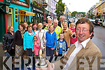 CELEBRATE: Kenmare Tidy Towns chairman Noel Crowley and the rest of his Tidy Towns committee celebrate after arriving back to Kenmare on Tuesday.   Copyright Kerry's Eye 2008