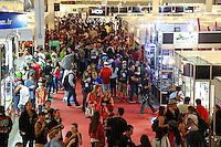 SAO PAULO, SP, 19.07.2014 - TATTOO WEEK 2014 - Publico durante a convençao de Tatuagem Tattoo Week 2014 no Pavilhao amarelo do expo center norte, região norte da cidade de São Paulo. (Foto: Andre Hanni / Brazil Photo Press)