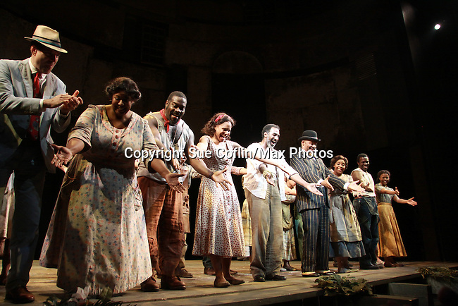 """All My Children Norm Lewis and Audra McDonald star as """"Porgy and Bess"""" in The Gershwins' Porgy and Bess on Opening Night - January 12, 1212 at the Richard Rogers Theatre, New York City, New York.  (Photo by Sue Coflin/Max Photos)"""