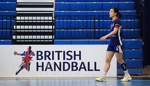 06 APR 2012 - LONDON, GBR - Great Britain's Holly Lam-Moores (GBR) waits for the ball during a team practice match at the National Sports Centre in Crystal Palace, Great Britain .(PHOTO (C) 2012 NIGEL FARROW)