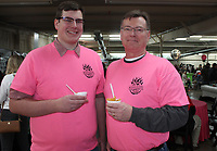 NWA Democrat-Gazette/CARIN SCHOPPMEYER Jack Threet (left) and John Threet volunteer at Chilirhea.