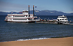 The M.S. Dixie at her dock in Zephyr Cove, Nevada on Thursday, March 6, 2014. <br /> Photo by Cathleen Allison