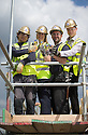***FREE PHOTO FOR EDITORIAL USE***<br /> <br /> 09/06/15<br /> <br /> L/R: Sebastian Iwaniuk, Lesley Blackman, Akil Sylia and<br /> Jamie Prior... <br /> <br /> Lotto jackpot winner, Lesley Blackman, joins builders in Southampton to celebrate the building trade being declared the country&rsquo;s luckiest profession, according to The National Lottery&rsquo;s top secret winners database.<br />  <br /> All Rights Reserved: F Stop Press Ltd. +44(0)1335 418629   www.fstoppress.com.