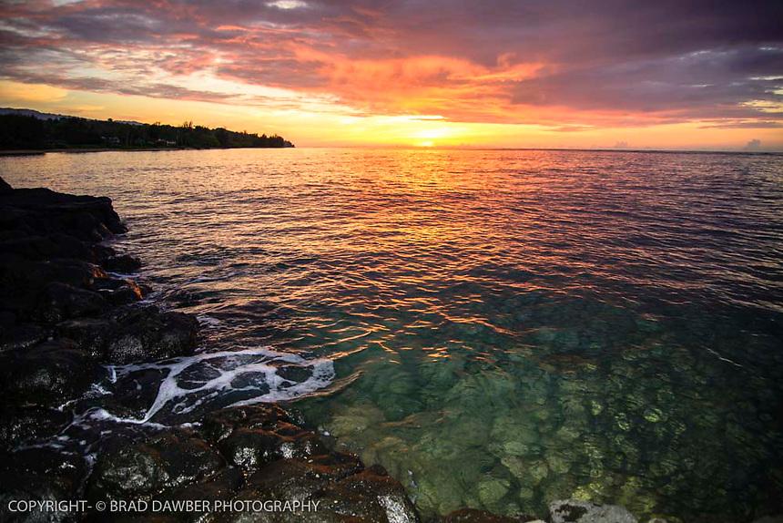 Summer sunset at Anini