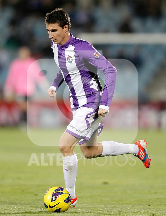 Real Valladolid's Omar Ramos during La Liga match.November 18,2012. (ALTERPHOTOS/Acero)