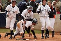SAN ANTONIO, TX - MARCH 20, 2010: The McNeese State University Cowgirls vs. the University of Texas at San Antonio Roadrunners Softball at Roadrunner Field. (Photo by Jeff Huehn)
