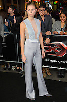 Hermione Corfield at the Los Angeles premiere for &quot;XXX: Return of Xander Cage&quot; at the TCL Chinese Theatre, Hollywood. Los Angeles, USA 19th January  2017<br /> Picture: Paul Smith/Featureflash/SilverHub 0208 004 5359 sales@silverhubmedia.com