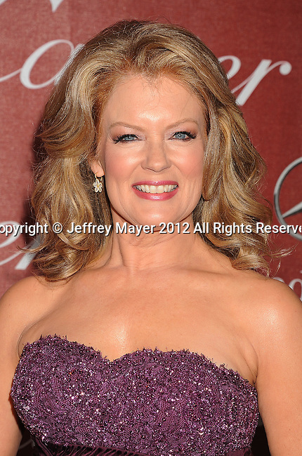 PALM SPRINGS, CA - JANUARY 07: Mary Hart arrives at the 2012 Palm Springs Film Festival Awards Gala at the Palm Springs Convention Center on January 7, 2012 in Palm Springs, California.