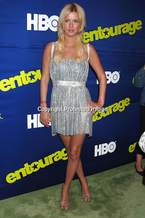 "Nicky Hilton ..arriving at The New York Premiere of HBO's 3rd Season of ""Entourage"" on June 7, 2006 at Skirball Center for the Performing Arts at New York University. ..Robin Platzer, Twin Images"