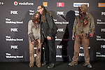 The Walking Dead: 6th Season presentation in Madrid, Spain. February 23, 2016. (ALTERPHOTOS/Victor Blanco)