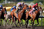 Switch with Garrett Gomez up wins the A Gleam Handicap at Betfair Hollywood Park in Inglewood, California on July 14, 2012.