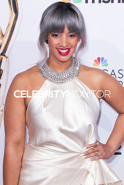 PASADENA, CA, USA - OCTOBER 10: Dascha Polanco arrives at the 2014 NCLR ALMA Awards held at the Pasadena Civic Auditorium on October 10, 2014 in Pasadena, California, United States. (Photo by Celebrity Monitor)