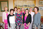 Supporting the Killarney Rotary Club organised Fashion Blitz in aid of St Vincent De Paul at the Malton hotel, Killarney last Saturday afternoon were l-r: Ann O'Connor, Maureen Somers, Emer Moynihan, Ann Wren, Joan O'Connor, Teresa Irwin, Eilish O'Sullivan and Margaret Scally.