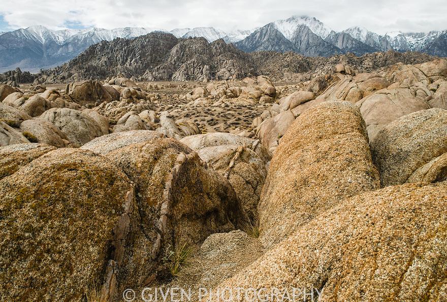 Mount Whitney, Sierra Nevada Mountains, California