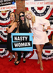 Rosanna Scotto, Jenna Ruggiero, and Christie Brinkley attends the Broadway Opening Night Performance for 'Michael Moore on Broadway' at the Belasco Theatre on August 10, 2017 in New York City.