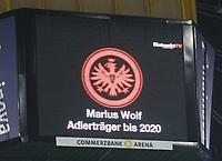 Marius Wolf (Eintracht Frankfurt) bleibt Frankfurter - 26.01.2018: Eintracht Frankfurt vs. Borussia Moenchengladbach, Commerzbank Arena