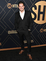 04 January 2020 - West Hollywood, California - Dominic Sherwood. Showtime Golden Globe Nominees Celebration held at Sunset Tower Hotel. Photo Credit: Billy Bennight/AdMedia