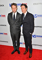 Jason Clarke &amp; Ed Helms at the premiere for &quot;Chappaquiddick&quot; at the Samuel Goldwyn Theatre, Los Angeles, USA 28 March 2018<br /> Picture: Paul Smith/Featureflash/SilverHub 0208 004 5359 sales@silverhubmedia.com