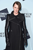 Gareth Pugh<br /> arriving for the Skate at Somerset House 2017 opening, London<br /> <br /> <br /> ©Ash Knotek  D3351  14/11/2017